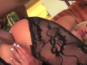 Perfect body - big boobs and round ass by amazing blonde sweetie Savannah Gold