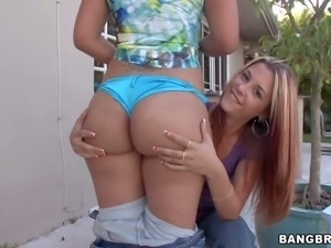 Cherry Lane and Monica are two lovely big ass models