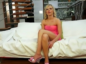 Pretty and naughty lady Suzie Carina penetrates her pussy with a favorite toy