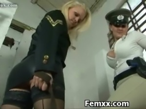 Cruel Domme With Kinky Girl free