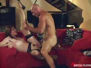Stoya gets banged in a haunted house