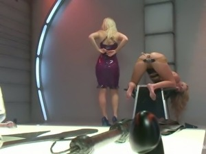 Aiden Aspen gets her lovely ass destroyed by domina Ashely