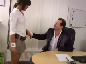 Nicky anal in the office free
