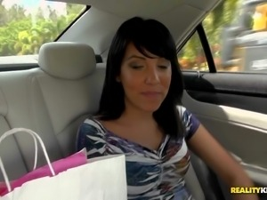 Adriianna was picked up at the mall. Petite attractive sexy