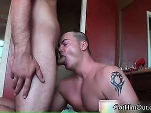 Jake fucking and sucking fat gay cock part3