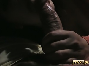 Busty Valentina drilled with a driver