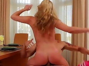 Sexy horney Mia is pussylicked by her guy before she gets fucked hard in her...
