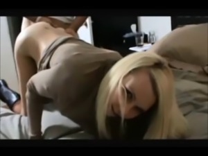 Amateur blonde fuck after party