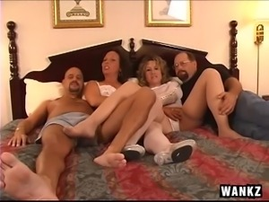 swingers get nasty in the bedroom