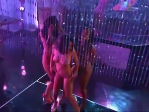 Playboy's all nite party girls strippers