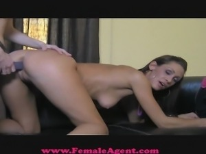 FemaleAgent Strap on seduction