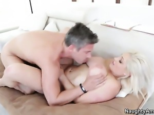 Dayna Vendetta is horny as fuck with Mick Blue s ram rod deep inside her...
