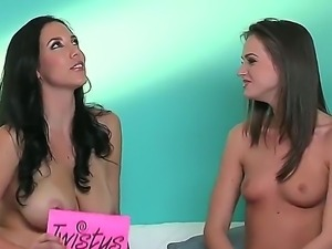 Do you want to check up some so cool lesbian interview with participation of...