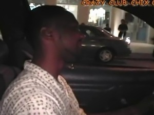 A Haitian cab driver doesn't know what to make of his fare - a guy in the...