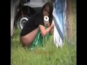 Outdoor peeing babes free