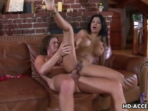 Hot latina alexis amore gets her ass blasted