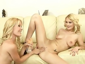 Antonya and Sophie Moone are very naughty and today lesbo girls are going to...
