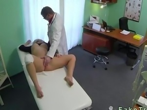Doctor bangs a sexy blonde patient