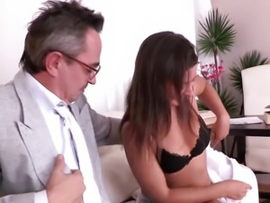 Being young and inexperienced Maia thinks she wants to suck her teachers cock...