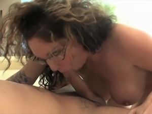 Kiki Daire gets her snatch fucked before have her ass covered with cum