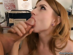 Tommy Gunn cant wait any longer to put his meat stick in extremely hot Lexi...