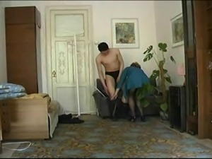 Horny milf love young boy