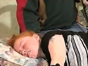 Redhead Getting Her Nipples Abused