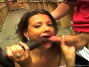 milf fucking in a deposit @ young and dumb #02