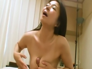 Mature Japanese Akiko Oda surprised with creampie