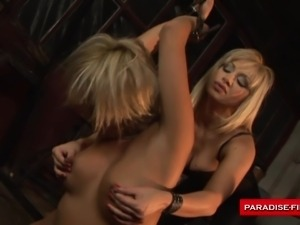 paradise films busty blonde sex slave dominated