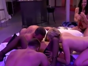 Group fuck for hot reality babes
