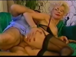 Sexy hot french mature anal fist piercing