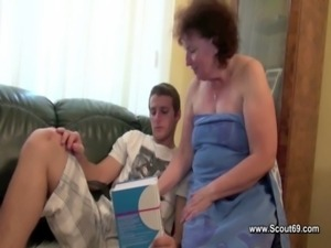 Mom caught german boy and get fucked in all holes free