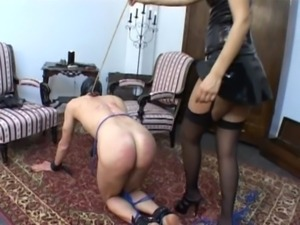 100% Thrashed - Multiple BDSM Caning Scenes  – Part 01 free