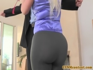 CFNM babe Julie Cash POV doggystyle free