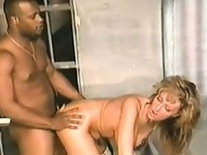 Busty Babe Fucked In Prison By A BBC