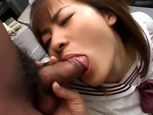 Arisa Yoshikawa touched by two men