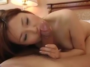 Pretty Busty Japanese MILF's Hot Hairy Cunt