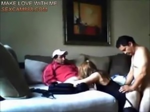 sexcam888.com-Cheating wife hooks up with two guys - sexcam888.com