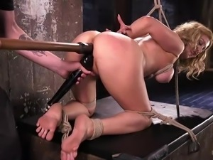 Cherry Torn has a real bdsm addiction. For a bright and strong orgasm, she...