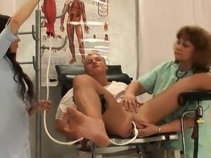 Enema and prostate massage