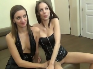 Young German not Twins Share Hard Cock