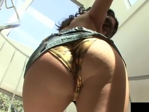 Busty Jenna Presley gladly gives a tittyfuck and passionately rides