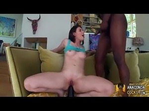 Casey Calvert Anally Pounded By The Black Mamba