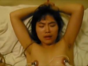 Chinese Sex Slave Lili: nipple sucker on filthy whore