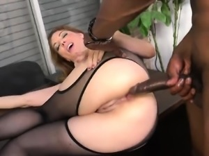 Big titted slut Kiki Daire double penetrated by two BBC