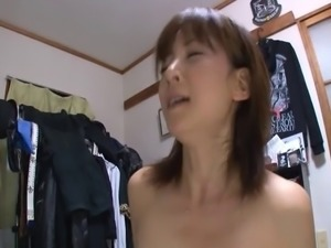 Cheating Japanese wife gets to work as soon as hubby leaves
