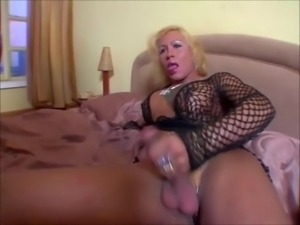 2 mature shemales strokes their dic
