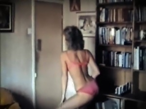 DON'T STOP - vintage 70's slim beauty striptease dance