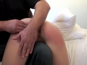 Spanked & Groped Females: Naughty Cas Cal Punished